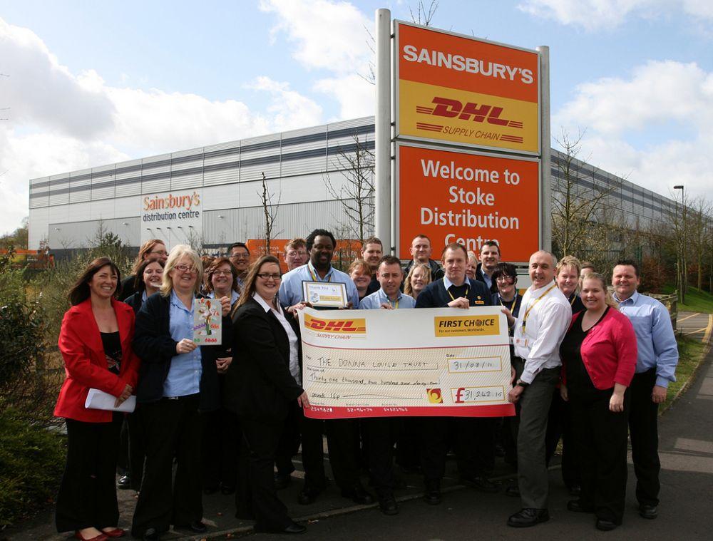 DHL Sainsburys Stoke
